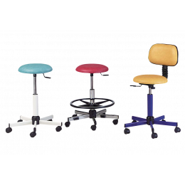 Tabouret médical assise ronde Gamme 120