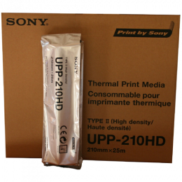 Rouleau de papier thermique Sony UPP210HD haute densité (l'unité)
