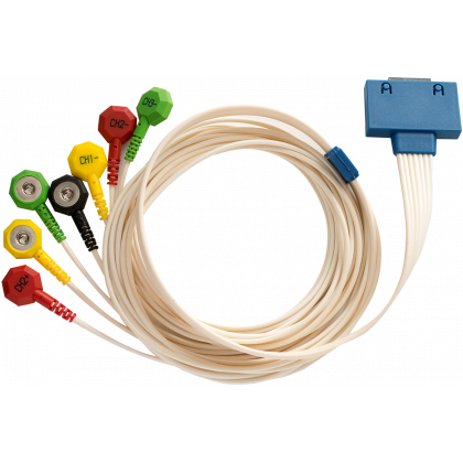 Câble patient 7 brins pour Holter ECG Cardioline Walk400h