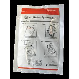 *Electrodes adultes pour défibrillateur I-PAD (la paire)
