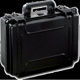 Valise rigide IP67 sans mousse - moyenne - noire