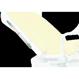 Rail inox sur dossier pour fauteuil Promotal Elite