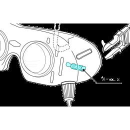 Ampoules de rechange pour lunettes Dr. Frenzel - Recherche de Nystagmus (lot de 4)