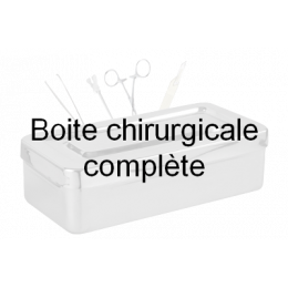 Boîte de chirurgie dentaire adulte