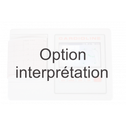 Option interprétation pour ECG Cardioline 100L (algorithme de Glasgow)