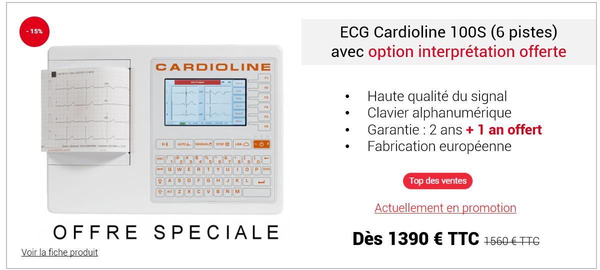 Découvrez l'ECG 100S